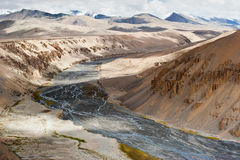 Himalaya high mountains landscape. India, Ladakh Royalty Free Stock Image
