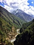 Himalaya imponente Imagen de archivo