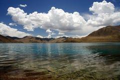 Himalaya lake in Tibet Royalty Free Stock Image