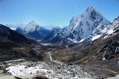 Himalaya Landscape. Himalaya, the journey to mt. Everest stock images