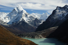 Himalaya Landscape Royalty Free Stock Photography