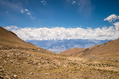 Himalaya landscape mountain view background Royalty Free Stock Photos