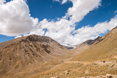 Himalaya landscape mountain view background Royalty Free Stock Image