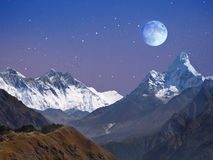 Free Himalaya Landscape Mountains Royalty Free Stock Image - 90425876