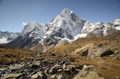 Himalaya landscape Nepal Stock Photography