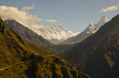 Himalaya landscape Nepal Royalty Free Stock Photo