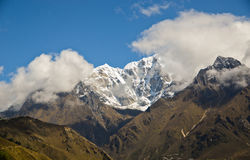 Himalaya landscape Stock Photo