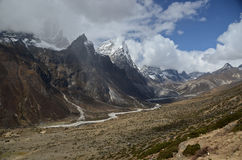 Himalaya landscape Royalty Free Stock Images