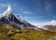 Himalaya, montañas, Nepal Foto de archivo