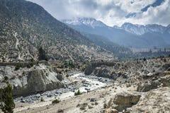 Himalaya mountain landscape Royalty Free Stock Images
