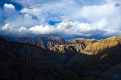 Himalaya Mountain landscape in Dolpo, Nepal Royalty Free Stock Photography