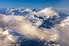 Himalaya mountain- nepal Stock Photo