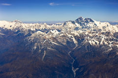 Himalaya mountain- nepal Royalty Free Stock Image