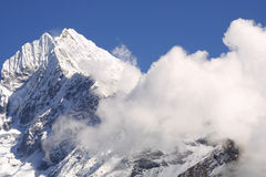 Himalaya Mountain Peak Stock Image