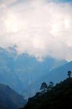 The Himalaya mountain peak Royalty Free Stock Photo