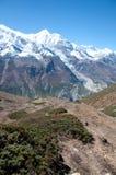 The Himalaya mountain peaks Stock Images