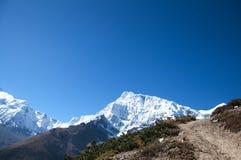 The Himalaya mountain peaks Stock Photography