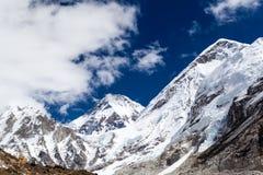 Himalaya Mountain Peaks, Inspirational Autumn Landscape Royalty Free Stock Photography