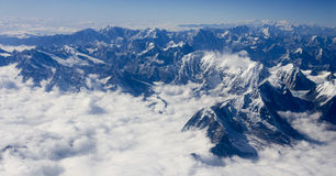 Himalaya mountain range Stock Photo