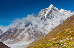 Himalaya mountains Royalty Free Stock Photo