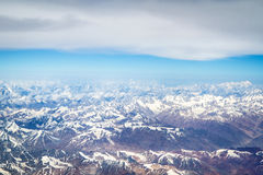 Himalaya mountains Royalty Free Stock Photos