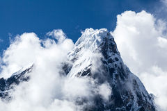 Himalaya mountains landscape, Nepal Stock Image