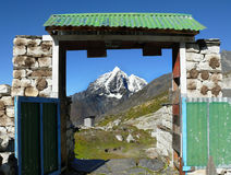 Himalaya Mountains Landscape Nepal Royalty Free Stock Image