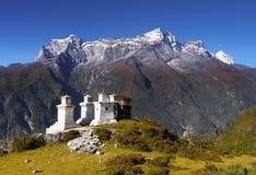 Himalaya Mountains Landscape Nepal royalty free stock photos