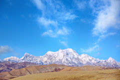 The Himalaya Mountains Royalty Free Stock Image