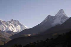 Himalaya Mountains - Nepal Royalty Free Stock Images