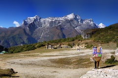 Himalaya Mountains Stock Image
