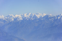 Himalaya Mountains. Photo of high peaks of the Himalaya mountains Royalty Free Stock Image