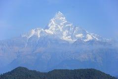 Himalaya Mountains. Photo of high peaks of the Himalaya mountains Stock Photos