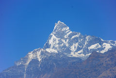 Himalaya Mountains. Photo of high peaks of the Himalaya mountains Royalty Free Stock Photography
