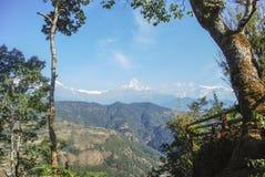 Himalaya Mountains. Photo of high peaks of the Himalaya mountains Stock Image