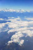 Himalaya Mountains. Photo of high peaks of the Himalaya mountains Stock Photo