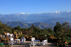 The Himalaya Mountains Range Royalty Free Stock Image
