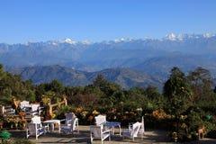 The Himalaya Mountains Range royalty free stock image