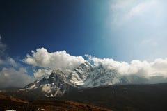 Himalaya. Mountains in Sagarmatha region,Himalaya royalty free stock photo