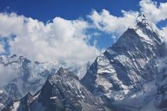 Himalaya. Mountains in Sagarmatha region,Himalaya stock photo