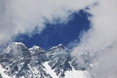 Himalaya. Mountains in Sagarmatha region,Himalaya royalty free stock image