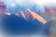 Himalaya. Mountains in Sagarmatha region, Himalaya stock photography