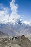 Himalaya mountains view Royalty Free Stock Photography