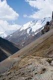 himalaya nepal som trekking Royaltyfri Fotografi