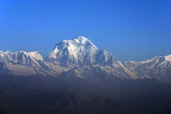 himalaya nepal som trekking Royaltyfri Foto