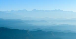 Himalaya range,Nepal stock images