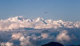 Himalaya Range scenery. Himalaya Range is the highest mountain in the world, unique scenery, majestic royalty free stock photography