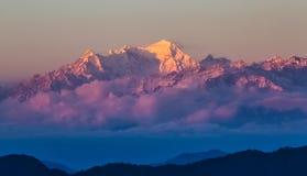 Himalaya Range scenery Stock Photo