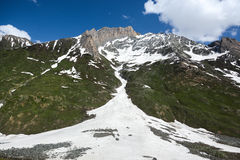 Himalaya range in summer, the north of India Stock Photo