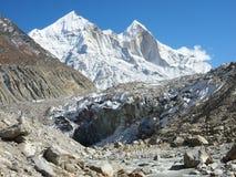 Himalaya sacro Gangotri Fotos de archivo